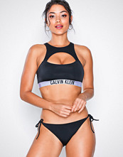 Calvin Klein Cheeky String Side Tie Bikini Black