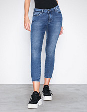 Noisy May Blå Nmkimmy Nw Ankle Zip Jeans AZ005MB