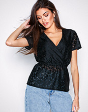 Pieces Pcjulia Ss Lace Top Ff