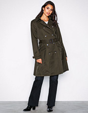 Lauren Ralph Lauren Green Cotton Trenchcoat
