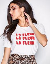 Selected Femme Slflada Ss Tee Ex Hvit
