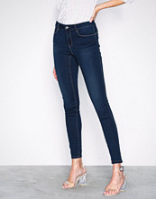 Vero Moda Mørk blå Vmseven Nw s Shape Up Jeans VI509 N