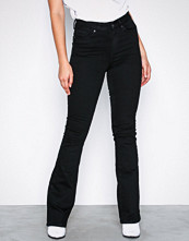 Vero Moda Svart Vmsophie Hr Flared Jeans BA123 Noos