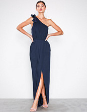 NLY Eve Navy One Shoulder Gown