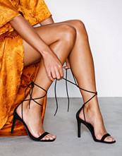 NLY Shoes Svart Square Heel Sandal