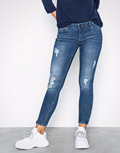 Noisy May Nmkimmy Nw Ankle Zip Jeans AZ003MB