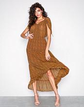 Object Collectors Item Brun Objcasey S/L Long Dress a Pa