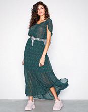 Object Collectors Item Mørk grønn Objcasey S/L Long Dress a Pa