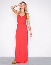 New Look Red Jersey V Neck Maxi Dress