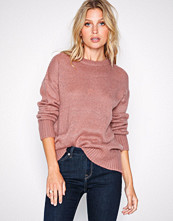 New Look Pink Curved Hem Jumper