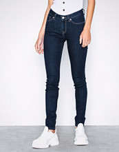 Selected Femme Slfida Mw Skinny Rinse Jeans W Noos