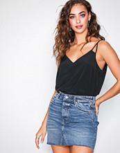 Gina Tricot Alexa denim skirt Dark Blue