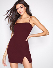 Motel Burgundy Verso Dress