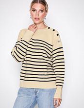 Polo Ralph Lauren Natural Shldr Btn Po-Long Sleeve-Sweater