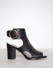 River Island Circle Buckle Shoeboot
