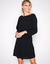 Object Collectors Item Svart Objlourdes 3/4 Lace Dress Noos