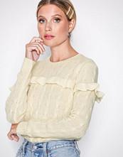 Polo Ralph Lauren Natural Rfle Cbl Cn-Long Sleeve-Sweater