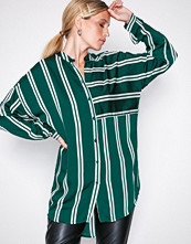 Vero Moda Mørk turkis Vmdalion L/S Oversized Shirt SB8