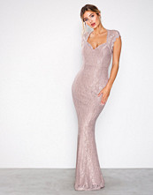 NLY Eve Lys rosa Mermaid Lace Gown