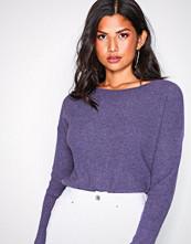 Polo Ralph Lauren Purple Boatneck Long Sleeve Sweater