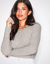Polo Ralph Lauren Grey Boatneck Long Sleeve Sweater