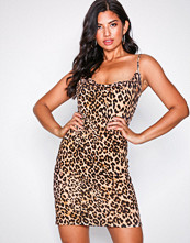 NLY Trend Leopard Leo Waterfall Dress
