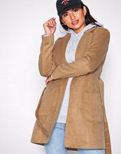 Pieces Pcdebby Belt Trenchcoat Bf Lys brun