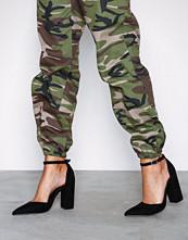 NLY Shoes Svart Sharp Block Sandal