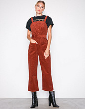 Glamorous Corded Dungaree Jumpsuit