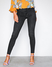 Gina Tricot Black Grey Molly High Waist Jeans