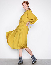 River Island Yellow LS Vicky Dress