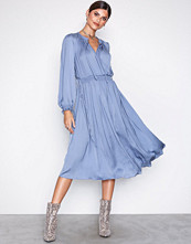 River Island Light Blue LS Vicky Dress