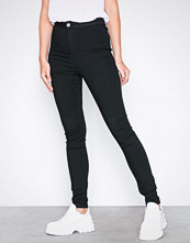 Noisy May Svart Nmella Super Hw Jeans GU304 Noos