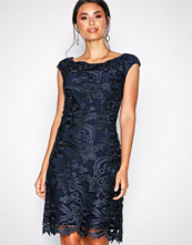 Lauren Ralph Lauren Navy Raydonna-Cap Sleeve-Day Dress