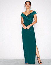 Lauren Ralph Lauren Green Leonetta Evening Dress