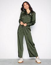 Lauren Ralph Lauren Green Mildaine-Jumpsuit