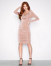 NLY Trend Mink Wrinkle Dress