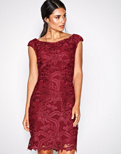 Lauren Ralph Lauren Red Raydonna-Cap Sleeve-Day Dress