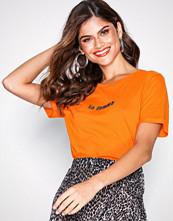Vila Orange Vifarla S/S T-Shirt