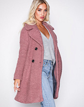 Only Rosa onlPALOMA Boucle Long Wool Coat Otw