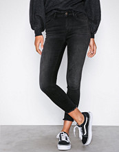Only Svart onlBLUSH Mid Ank Raw Jeans REA1099