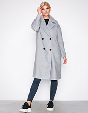 Vero Moda Vmmonday Cala Long Jacket Ki Lys grå