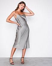 Filippa K Oyster Satin Slip Dress