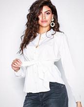 Vero Moda Hvit Vmpearl L/S Shirt Exp