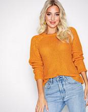 Only Orange onlANE L/S O-Neck Pullover Knt Noos