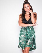 Odd Molly Dark Green flower fantasy flirt skirt