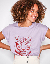 Vila Vimeyrem S/S T-Shirt Lys lilla