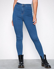 Noisy May Blå Nmella Super Hw Jeans GU307 Noos