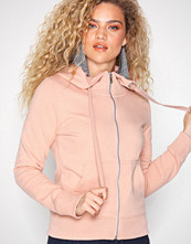 Only onlMARBELLA L/S Zip Hood Swt Lys rosa