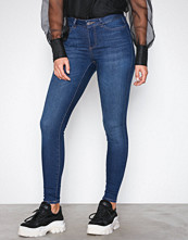 Noisy May Mørk blå Nmlucy Nw Power Shape Jeans BA074 N